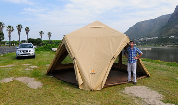 The Inflatable Tent & The Inflatable Tent - Caravan u0026 Outdoor Life magazine