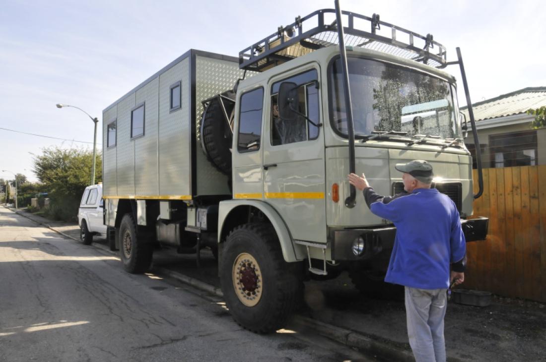 Reader DIY: From MAN Truck To Custom Motorhome - Caravan