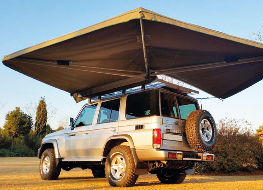Ostrich Wing Awning