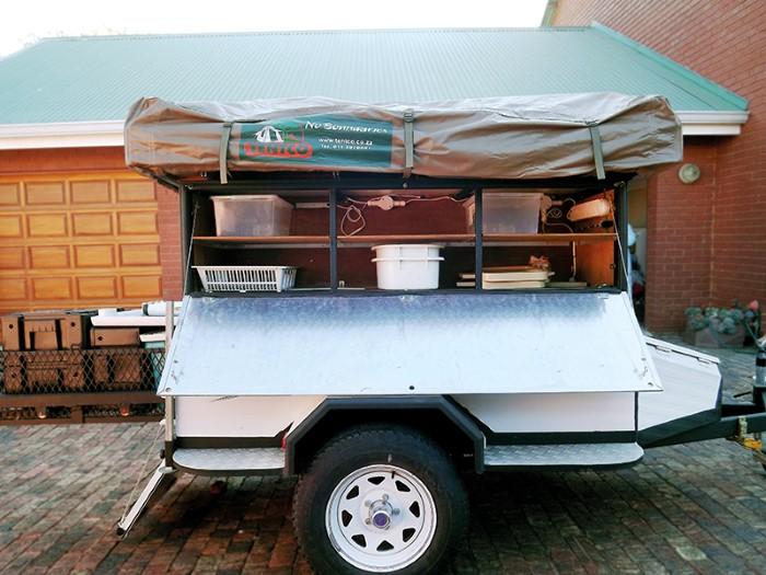 Reader Diy Tent Trailer Built For Namibia Caravan