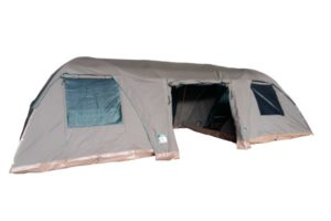 Double Bow Tent Extension