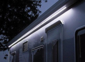 Fiamma LED awning case