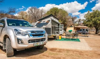 Camping at Mountain Zebra National Park