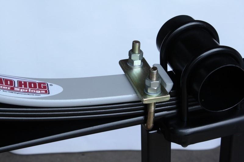 Motorhome DIY suspension