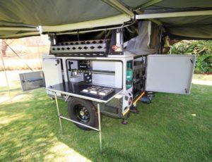 X140 Predator kitchen.