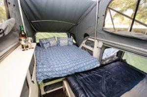 XT Trooper bed.