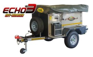 Echo 3 off road trailer