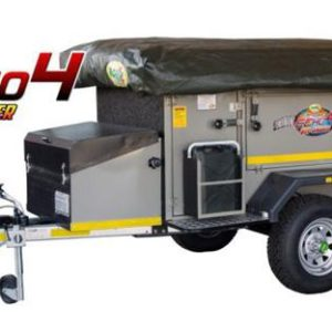 Echo 4 off road trailer