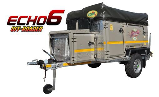 Echo 6 off road trailer