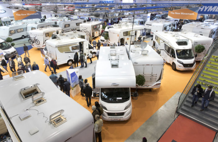 Caravan, Motor, Touristik (CMT) 2018, Stuttgart, Germany.