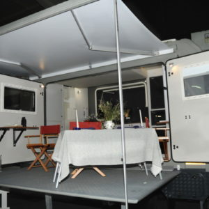 Unique custom motorhome by Motorhome-World at Beeld Holiday Show 2018