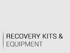 Recovery kits and equipment
