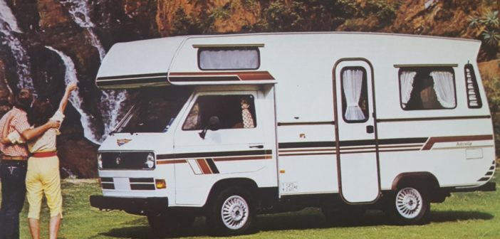 The history of motorhomes in South Africa
