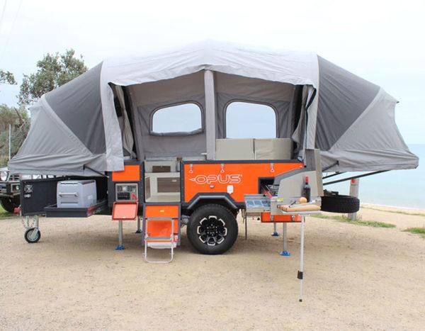 Air OPUS Camper trailer 4 sleeper