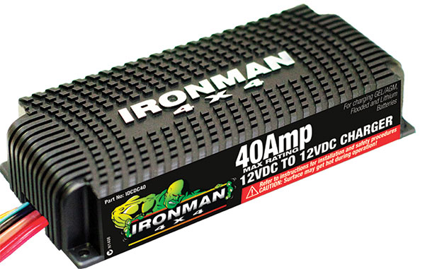 Ironman 4x4 Booster battery charger