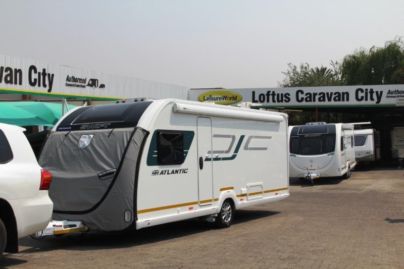 First Swift caravans received by customers - Caravan