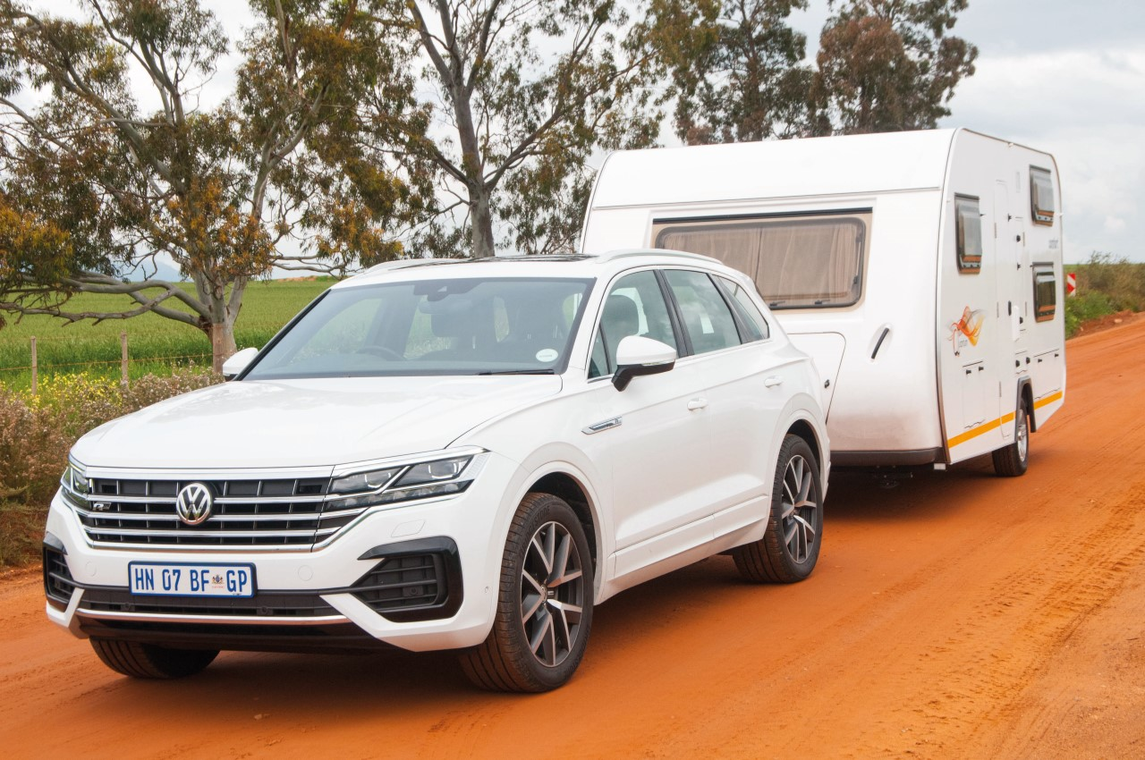 vw touareg tdi towing capacity