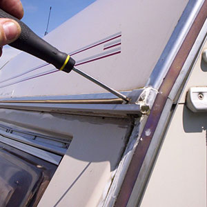 Caravan repairs