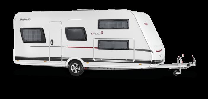 International: Seven-sleeper caravan from Dethleffs