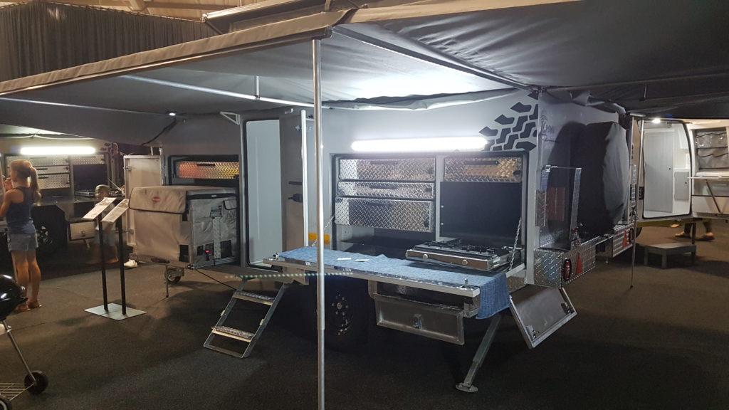 Crown Caravans from Motor King and Marine - Caravan Camp Destination Show 2019
