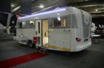 Custom Campers Gray - Caravan Camp Destination Show 2019