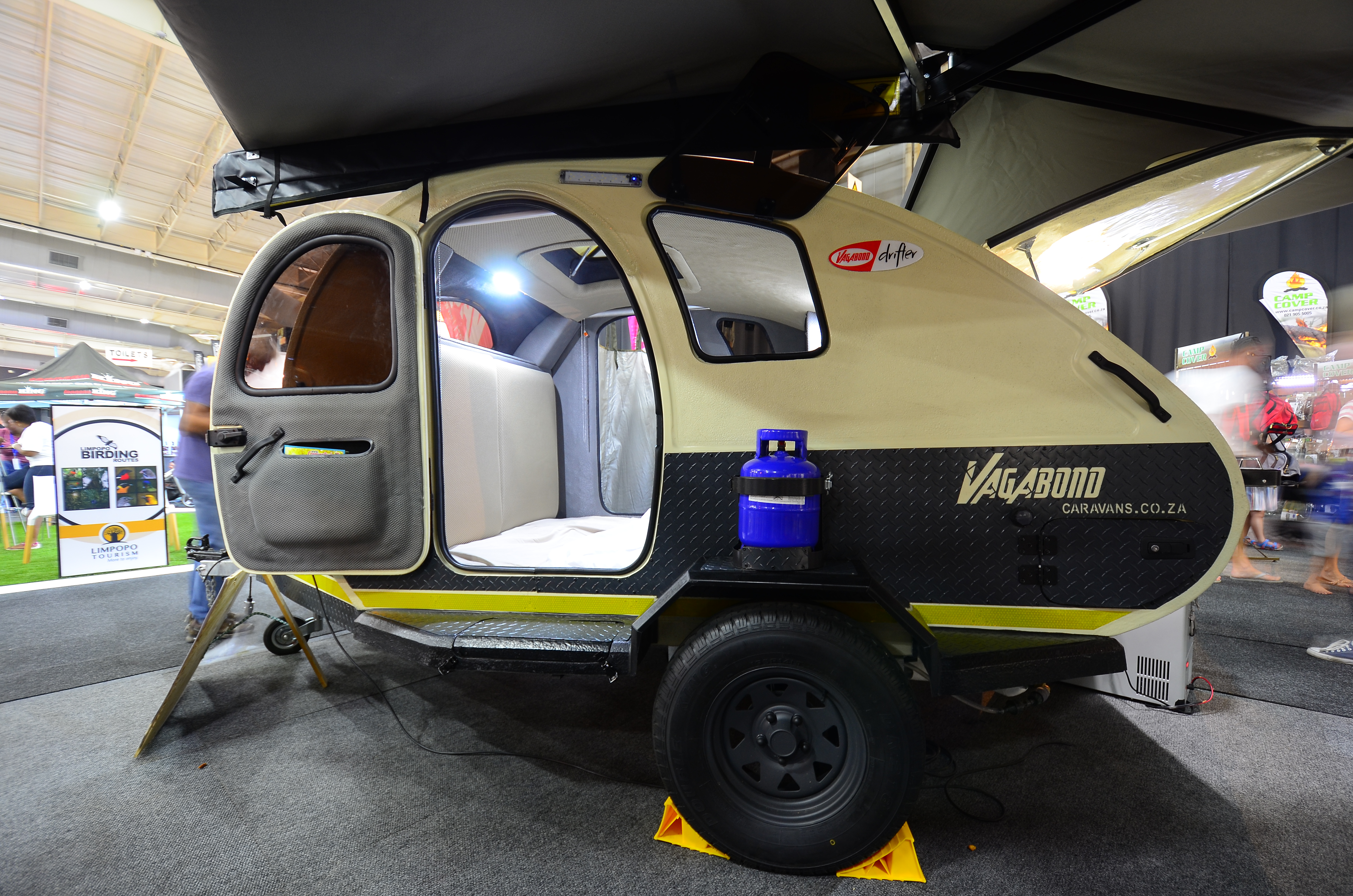 Vagabond teardrop's new look - Caravan & Outdoor Life magazine