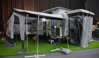Stealth Caravans EVO XR6 - Caravan Camp Destination Show 2019