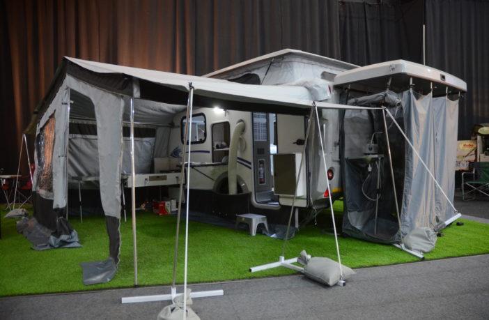 Stealth Caravans EVO XR6 - Caravan Camp Destination Show 2019