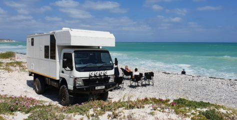 Motorhome to take the family through Africa