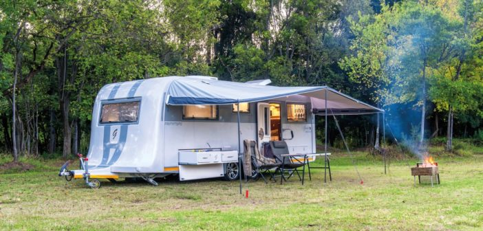 Caravan Review: Custom Campers Gray