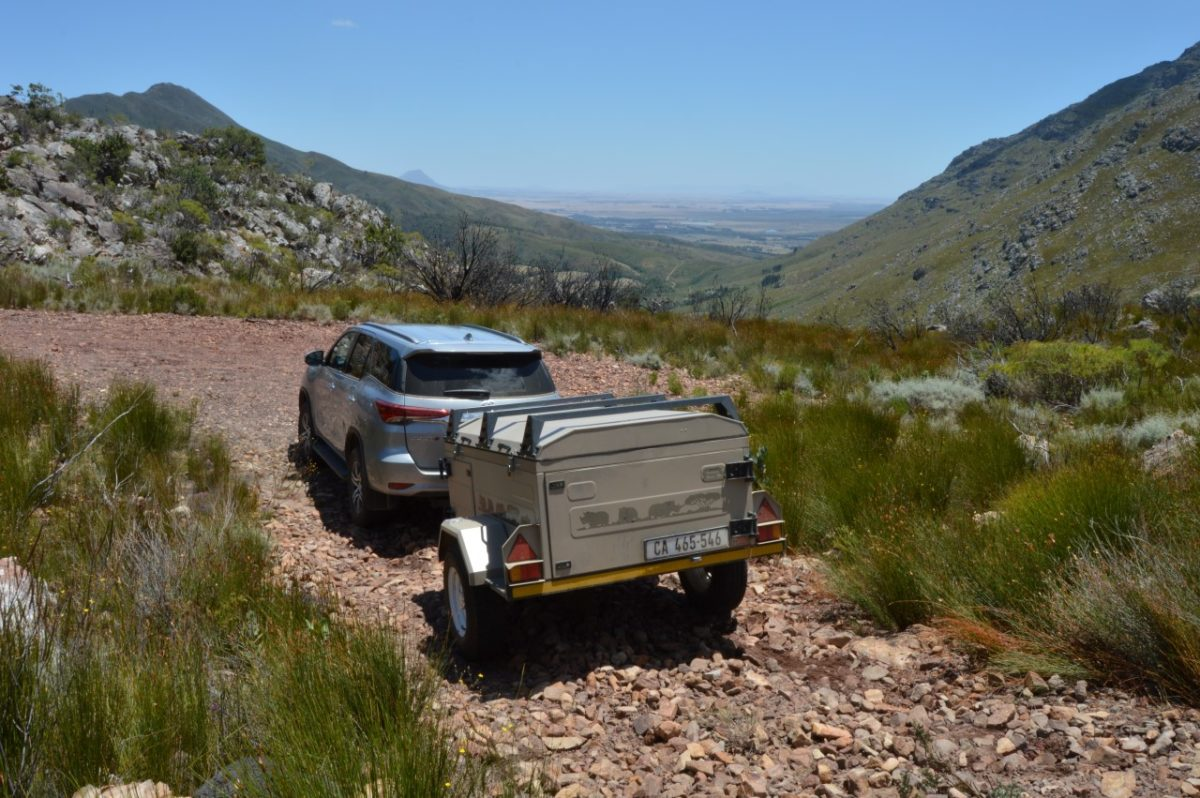 Camping for grown-ups in the Riebeeck Valley