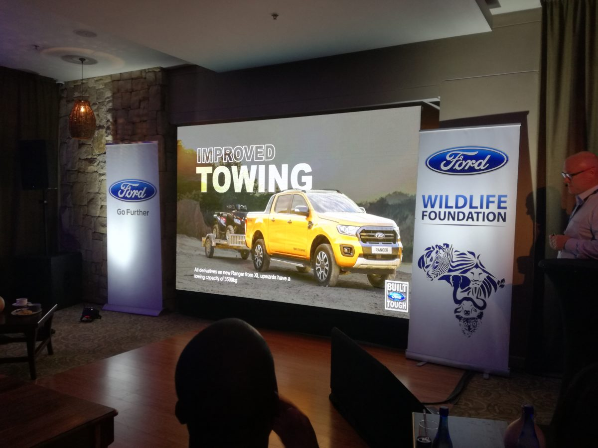 Ford Ranger 2019 launch press meeting