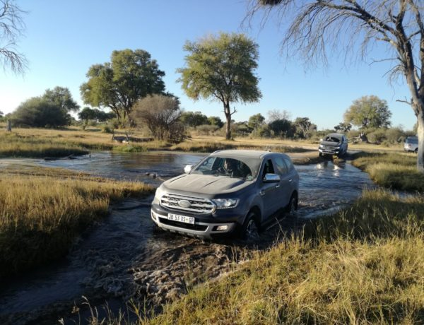 New Ford Everest in Northern Botswana