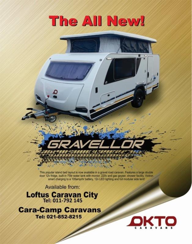 Okto Cabana Gravellor - Caravan & Outdoor Life magazine