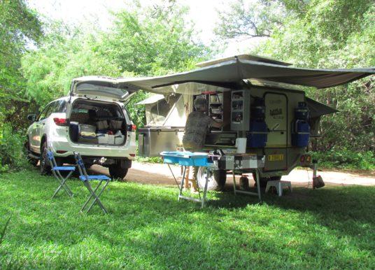 Camping at Nunda River Lodge